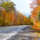 Fall Foliage Along Kancamagus Highway in New Hampshire