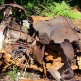 Old Car at Archers Pond - We have confirmed that this is not the burned car from rumor #5