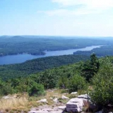 Photo of Alton Bay From The Summit of Mount Major