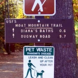 Mout Mountain Trail Sign