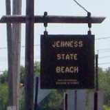 Jenness Beach in Rye NH