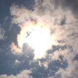 The Great American Solar Eclipse in NH at Peak (2:43pm)