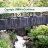 Sentinel Covered Bridge - Check out the fallen tree under the bridge that the bridge was built on!