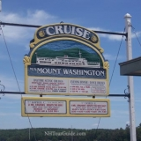 M/S Mount Washington Cruise Ship - Sign at Meredith Port