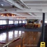 M/S Mount Washington Cruise Ship - Lower deck / dance floor area on center of ship