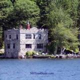 Castle House on Lake Winnipesaukee - View from the M/S Mount Washington Cruise Ship
