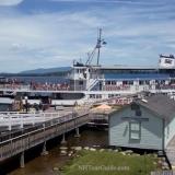 M/S Mount Washington Cruise Ship - Docked at it's Meredith port