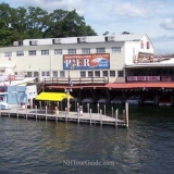 Winnipesaukee Pier - View from the MS Mount Washington Cruise Ship while docked at it's Meredith Port