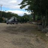 Merrymeeting Lake Boat Ramp - Truck/Trailer parking area