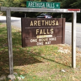 Arethusa Falls Trailhead - This is on Rt. 302 in Livermore, NH. This trailhead also takes you to Bemis Falls.