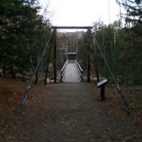 Bridge at Start of Lincoln Woods Trail - Crosses over Pemigewasset River