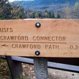 The Crawford Connector to Crawford Path Trailhead