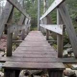 Bridge at Gibbs Falls Bean's Grant NH