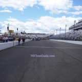 NHMS Front Stretch