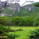 Eagle Cliff at Franconia Notch NH