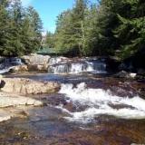 Jackson Falls in Jackson NH