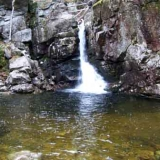 Kinsman Falls in Franconia Notch NH