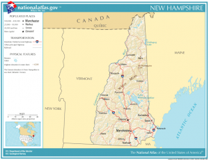 What is the Population of New Hampshire?