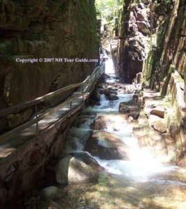 The Flume Gorge Lincoln NH