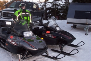 Lake Winnipesaukee Snowmobile Trail Access and Trailer Parking Area