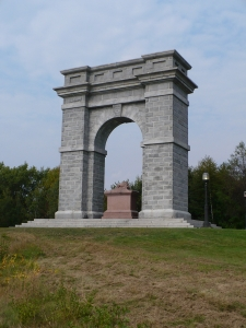 Memorial Arch of Tilton in Northfield NH