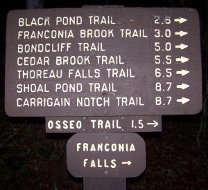 Franconia Falls Lincoln NH