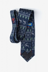 Christmas Tie: Ugly Sweater Christmas Tie
