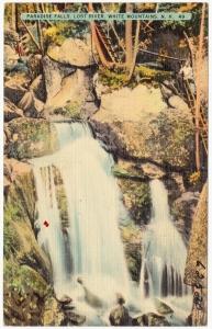 Paradise Falls at Lost River Gorge NH