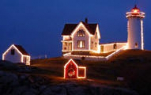 Nubble Lighthouse York Beach Maine