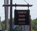 Jenness Beach in Rye NH