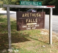 Arethusa Falls & Arthusa Falls Trail in NH