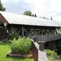 Happy Corner Covered Bridge