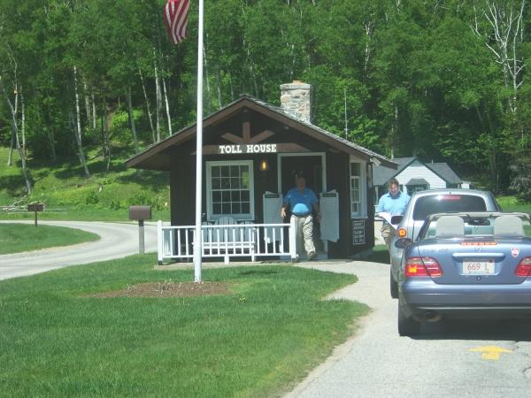 Mt Washington Auto Road Toll House