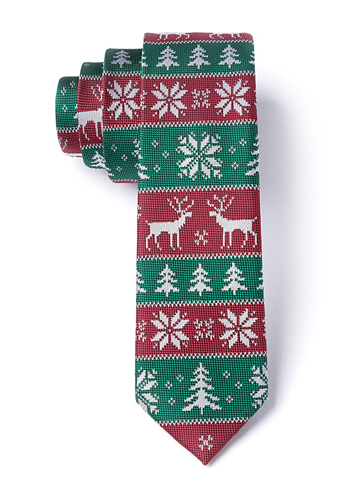 Ugly Sweater Tie Christmas