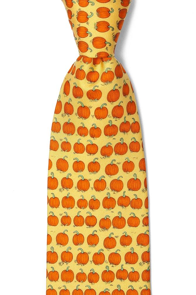 pumpkin tie