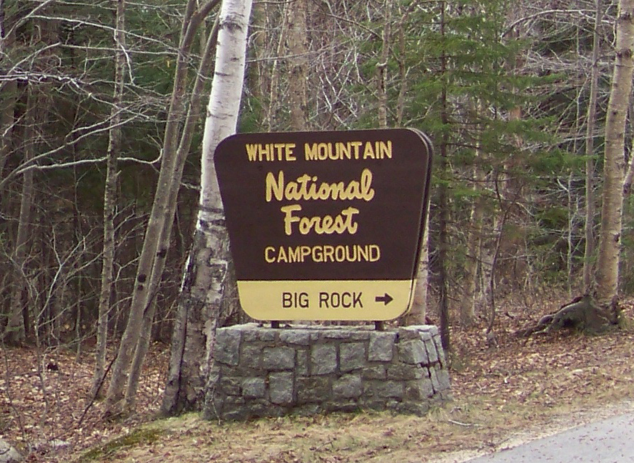 Big Rock Campground in Lincoln NH